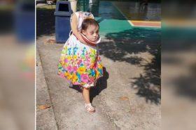 [VIDEO] ¡Aplauso de píe! Esta niña filipina postula al mejor disfraz de Halloween 2018
